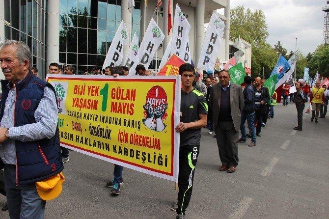 Kayseri'de Gergin 1 Mayıs