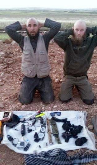 Suriye Sınırında 2 IŞİD Mensubu Terörist Yakalandı