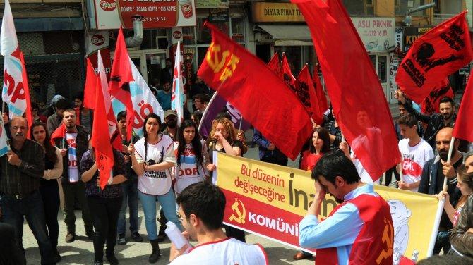 1 Mayıs Kırşehir'de davul zurna eşliğinde kutlandı