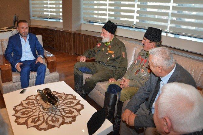 Çanakkale Gazilerinden Başkan Doğan'a Ziyaret