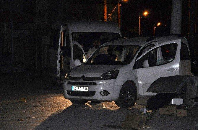 Kızıltepe'de Dur İhtarına Uymayan Araca Uyarı Ateşi Açıldı