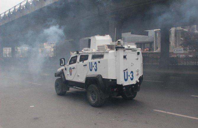Mecidiyeköy'de Eylemcilere Müdahale