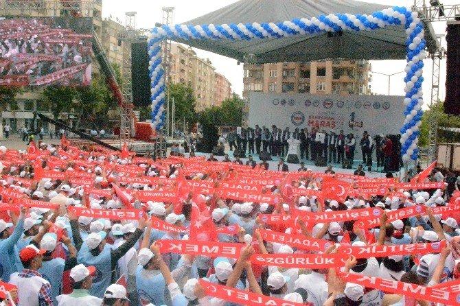 Kahramanmaraş'ta 1 Mayıs Coşkusu