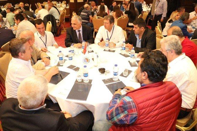 Mersinli Sanayiciler Sorunlarını Masaya Yatırdı