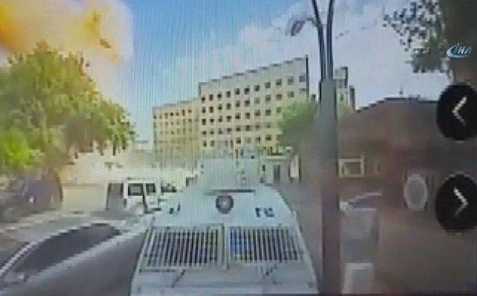Gaziantep'teki Patlama Anı Kameralara Yansıdı