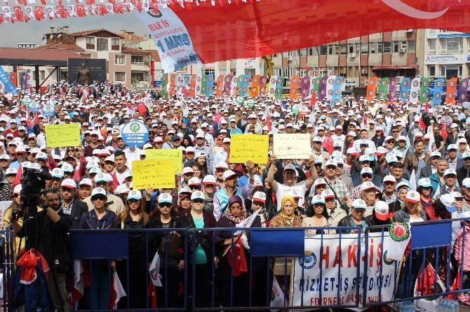 Sakarya'da 1 Mayıs Coşkuyla Kutlandı