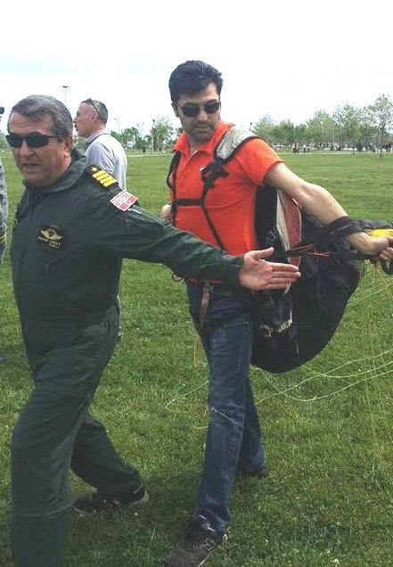 Samsun'da Yamaç Paraşütüne İlgi Artıyor