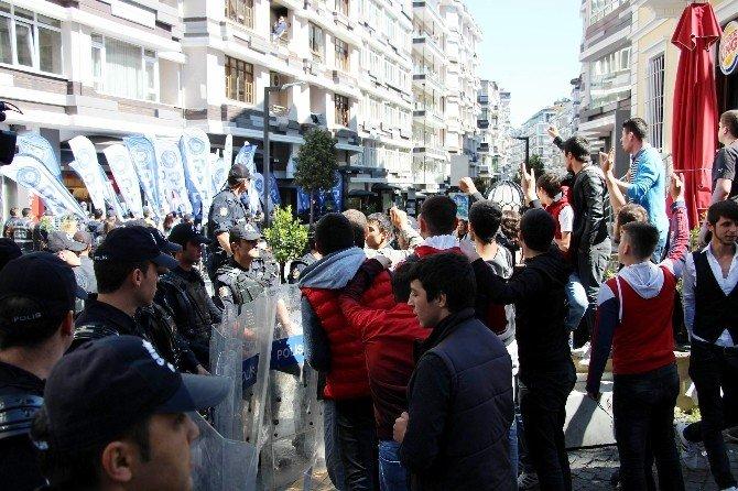 Samsun'da Gergin 1 Mayıs Kutlamaları