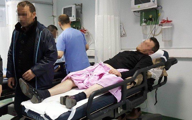 Samsun'da Barda Hesap Kavgası: 2'i Ağır 4 Yaralı