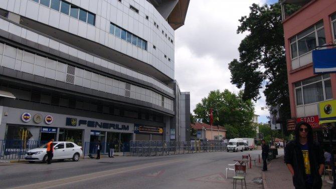 Fenerbahçe-Gaziantepspor maçı öncesi güvenlik önlemi
