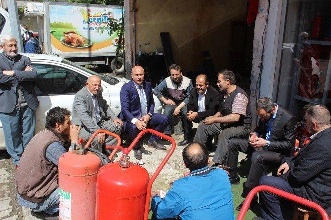 Başkan Togar'dan Tekkeköy'e Küçük Sanayi Sitesi Müjdesi