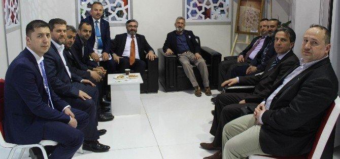 MÜSİAD Oberhousen Ve MÜSİAD Konya'dan Endüstri Zirvesi Fuarına Ziyaret