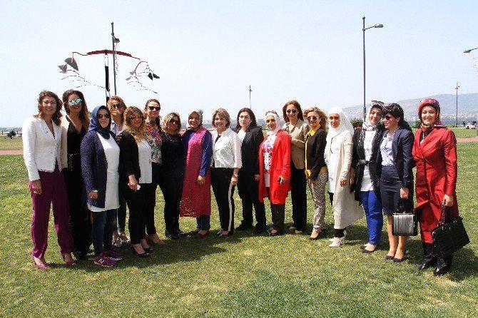 TOBB Diyarbakır İl Kadın Girişimcileri İzmir Kadın Girişimcileri İle Bir Araya Geldi