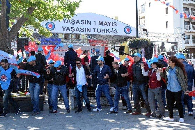 Türk-iş 1 Mayıs'ı Çanakkale'de Kutladı