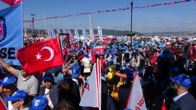 Türk-İş Genel Başkanı Atalay: Yapamazsınız, yaptırmayız