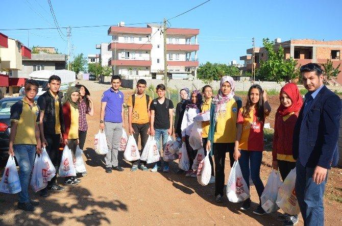 Öğrencilerden Anlamlı Yardım Projesi