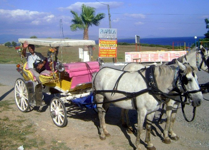 Didim'de Faytoncular Gezdirecek Turist Bekliyor