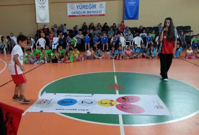 İlkokullararası mendil kapmaca turnuvası sona erdi