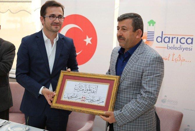 Başkan Karabacak Suriyeli Öğretmenlerle Buluştu