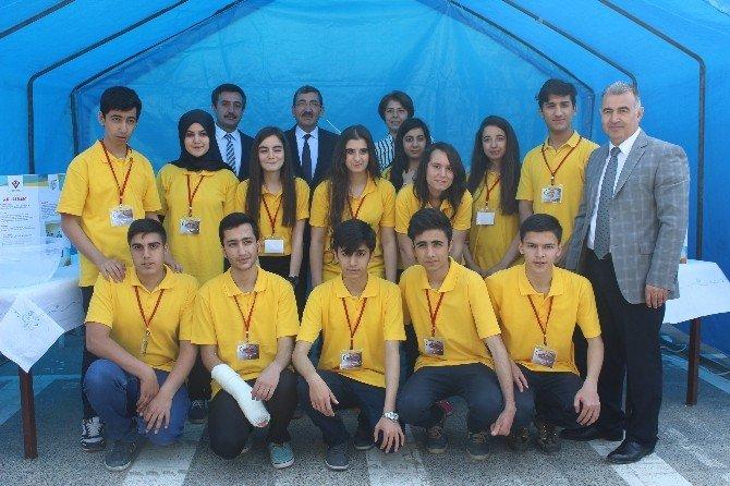 Elazığ'da TÜBİTAK 4006 Bilim Fuarı Açıldı