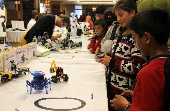 Robotlar Erzurum'da Görücüye Çıktı