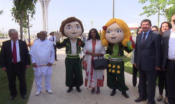 EXPO 2016 Antalya'da Etiyopya'dan renkli gösteri
