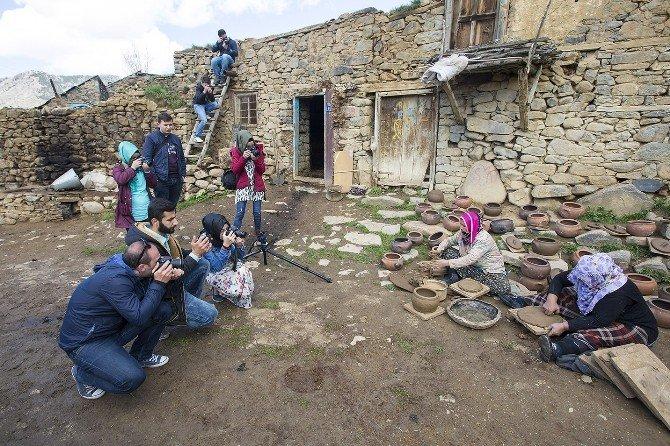 Genç Fotoğrafçılar Gudu Yapımını Fotoğrafladı