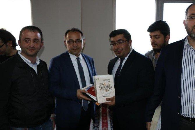 Güneş Vakfı Erhan Afyoncu, Tufan Gündüz Ve Erkan Göksu'yu Ağırladı