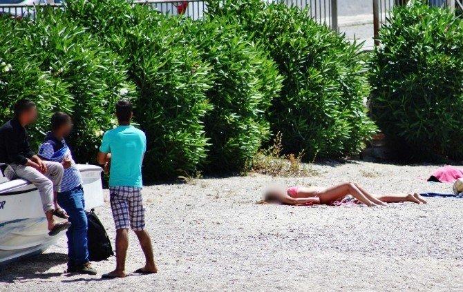 Sıcaklarla Birlikte Sahil Tacizcileri İş Başı Yaptı