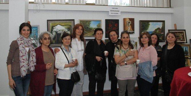 Kartal Belediyesizeynep Küçük'ün Resim Sergisine Ev Sahipliği Yaptı