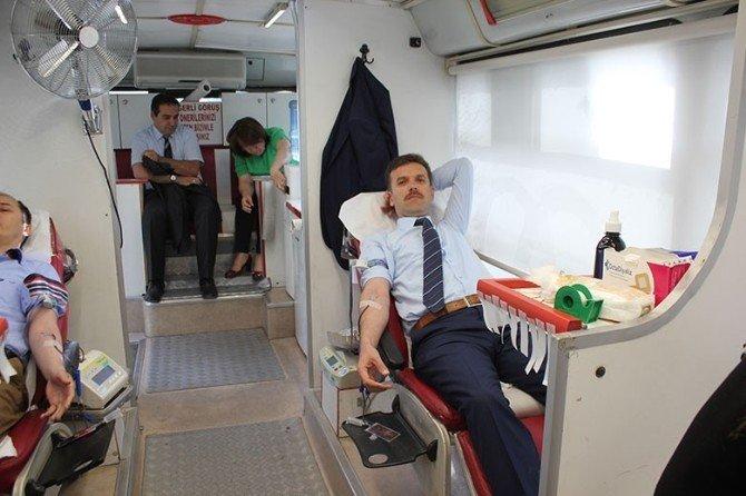 Tarım İl Müdürlüğü'nden Kan Bağışı Kampanyası