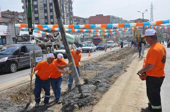 Çetin Apatay Bulvar Projesi İçin Tören Düzenlendi