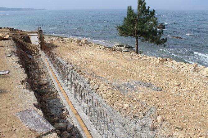 Kocaeli'nin Karadeniz kıyılarında yaz hazırlıkları sürüyor