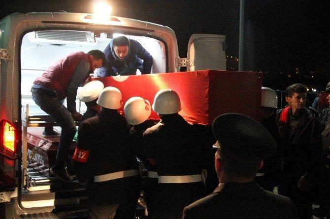 Nusaybin'de Şehit Olan Uzman Çavuşun Naaşı Bartın'a Getirildi