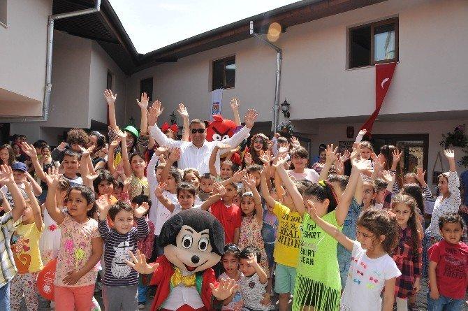 Başkan Can Çocuklarla Buluştu