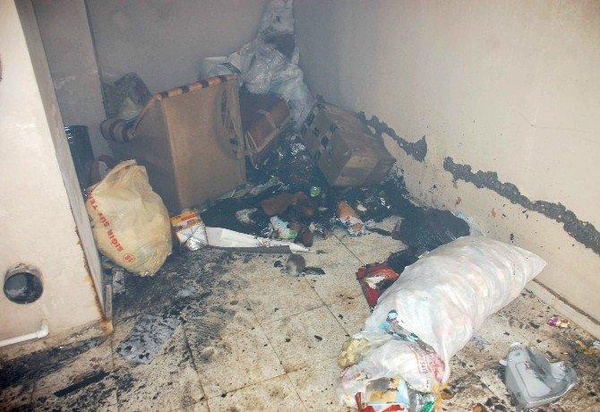 Bodrum Katında Çıkan Yangın Korkuttu