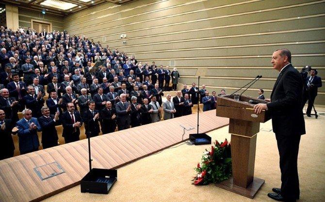 Burhaniye Muhtarları Cumhurbaşkanlığı Külliyesi'nde