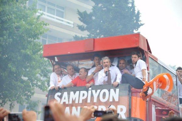 Adanaspor'da Alanya yenilgisi coşkuyu gölgelemedi