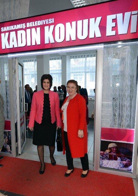 Sarıkamış'ta Kadın Konukevi'nin Açılışı Yapıldı