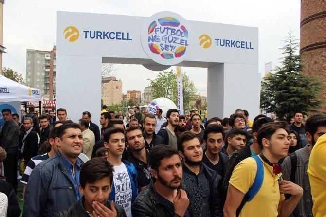 'Turkcell Haftanın Maçı' Eskişehir'de Oynandı