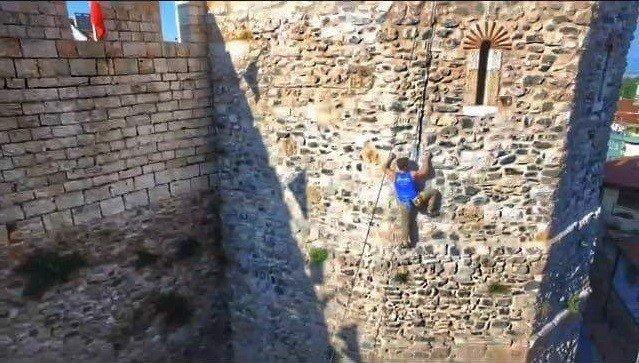 Milli Sporcu Tarihi Surlara Tırmandı