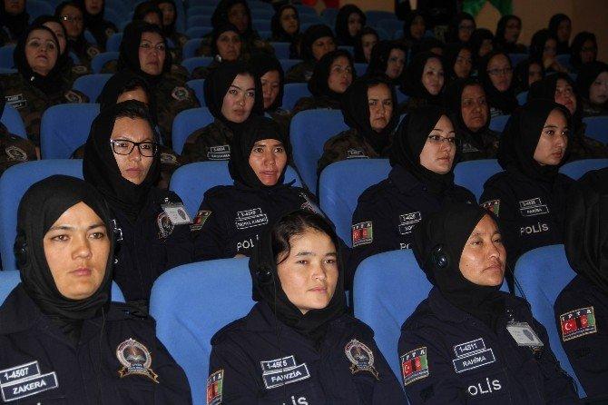 Afgan Kadın Polislere Sivas'ta Özel Harekat Eğitimi Verilecek
