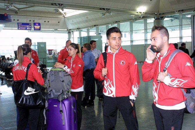 Türkiye Karate Milli Takımı madalya için Fransa'ya gitti