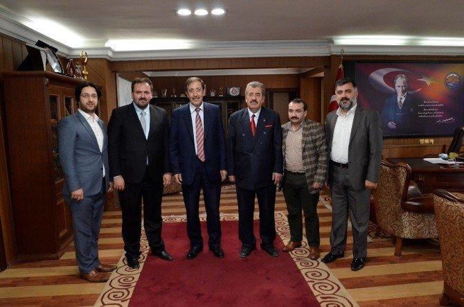 Başkan Bulutlar, Kudüs Ve Civarındaki Osmanlı Mirasını Koruma Ve Yaşatma Derneğini Ağırladı