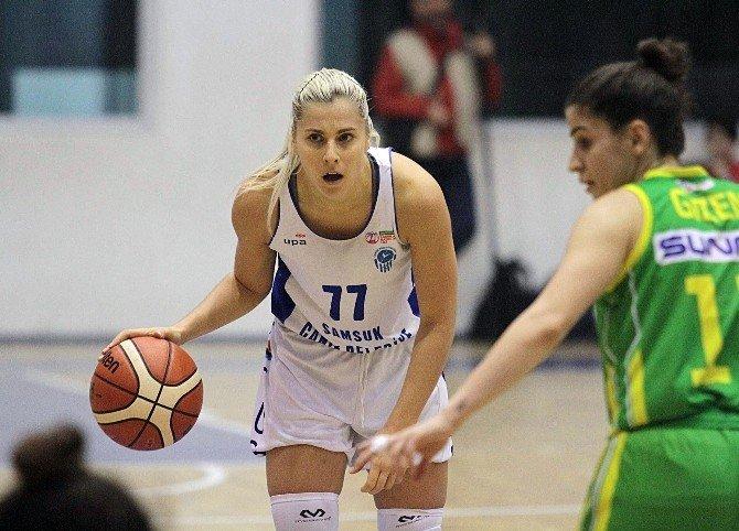 Canik Belediyespor'da Elina Babkina kadro dışı bırakıldı