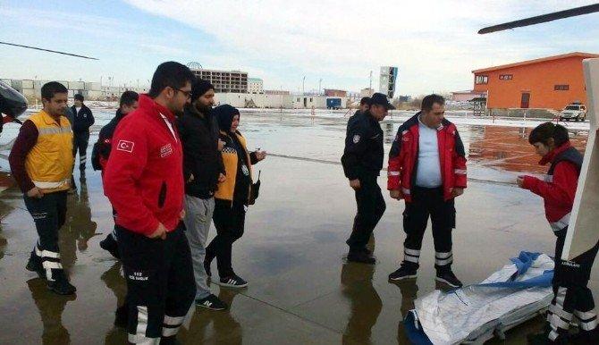 İzmir'de yaralanan polisler Afyonkarahisar'dan Ankara'ya nakledildi