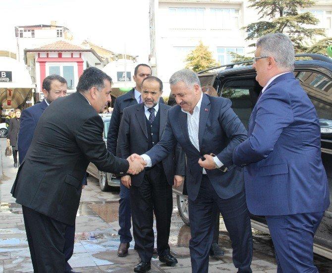 Bakan Arslan'dan Aksaray'a özel havalimanı müjdesi