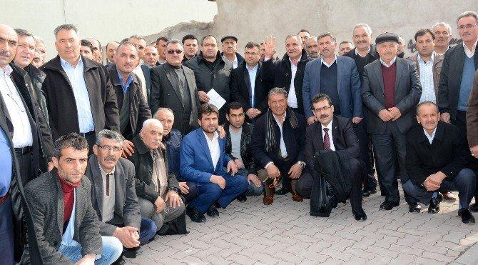 Aksaray'da muhtarlar ve STK'lardan referandumda 'evet' çağrısı