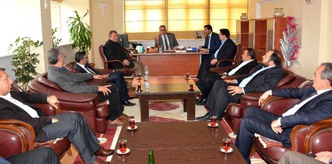 AK Parti Yerel Yönetimler Başkan Yardımcısı Yüksel Başkan Yazgı'yı ziyaret etti