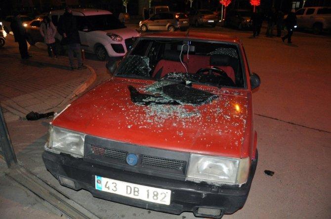 Polisten kaçan uyuşturucu taciri kaza yapınca yakalandı